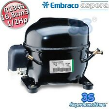 3S MOTORE Compressore FRIGO R134A 1/2 Hp 16,8 cm3 Embraco Aspera NEK2140Z LBP