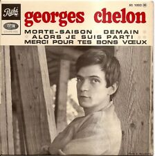 "GEORGES CHELON ""MORTE-SAISON"" 60'S EP PATHE 1002"
