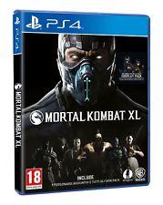 MORTAL KOMBAT XL PS4 VIDEOGIOCO PLAY STATION 4 GIOCO ITALIANO PICCHIADURO NUOVO