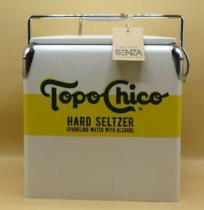 TOPO CHICO Hard Seltzer retro Cooler with Handle & Bottle Opener