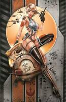 White Widow #1 Variant May the 4th X-Wing Naughty METAL Cover - Ltd 250