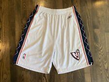 Authentic Reebok NEW JERSEY NJ NETS Basketball Shorts Size 38 XL