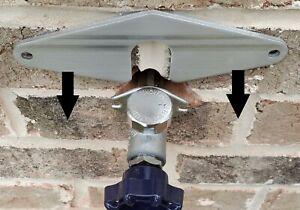 Hose Bib Buddy Spigot Loose Repair plate Outdoor Garden faucet No plumbing