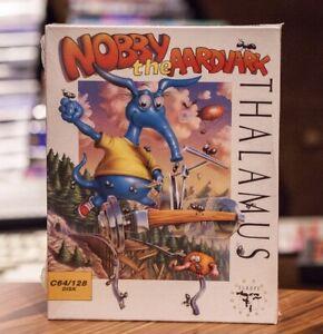 NOBBY THE AARDVARK - COMMODORE 64 C64 DISK *New/Sealed Grade B - THALAMUS (1993)