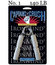 IronMind Captains of Crush CoC Hand Grippers - No. 1 Gripper - 140lb BEST VALUE