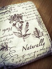 Shabby Chic Wild Flowers 100% Cotton Fabric. Price per 1/2 metre