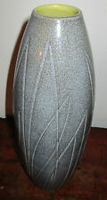 SCANDINAVIAN UPSALA EKEBY INGRID ATTERBURG VASE incised carved dec modernist