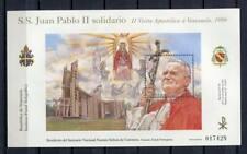 36327) VENEZUELA MNH** Nuovo** 1996 Popes visit s/s