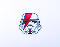 Enamel Pins Star Wars Storm Trooper David Bowie Fan Art