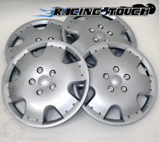 "#720 Replacement 16"" Inches Metallic Silver Hubcaps 4pcs Set Hub Cap Wheel Cover"