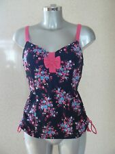 CURVY KATE Moonflower Tankini Top Underwired Swim Top Size 34D NEW TAGS