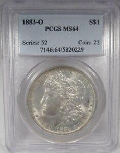 1883-O Morgan Silver Dollar PCGS MS64 Coin AK126