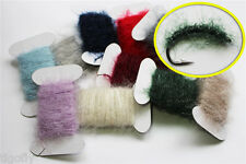 11 colors 110m Ice Dubbing Dub Nymph Body Fly Tying Thread Tinsel Materials