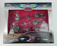 NEW Galoob Micro Machines Star Trek TV SERIES 1 1995 Collectors Edition 66072