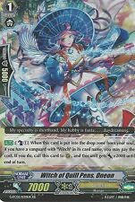 Cardfight Vanguard Card: Witch Of Quill Pens, Oneon - G-Fc02/030En Rr Rare