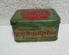 vintage Lucky Strike Tobacco tin merchandise tin lot T
