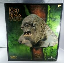 SIDESHOW WETA LORD OF THE RINGS CAVE TROLL BUST LOTR #2088/10000 RARE