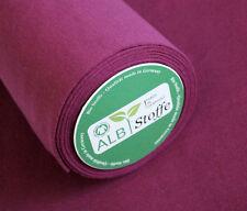Albstoffe Bio Bündchen ciclamino (beere)   - Bündchenstoff