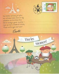 CANADA SANTA CLAUS AFTER XMAS POST CARD FRENCH & ENGLISH - 2013 WEBB # DP302 - 3