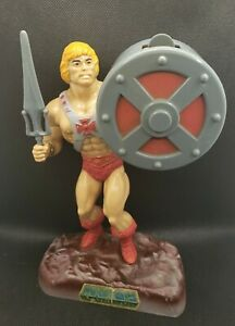 Vintage 1985 Helm Toy Masters of the Universe He-Man Soap Dispenser Figure MOTU