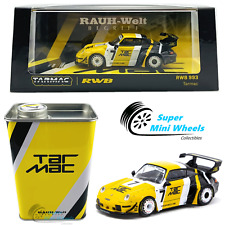 Tarmac Works 1:64 Porsche Rwb 993 Tarmac #7 (Yellow) with Oil Can