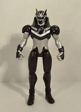 "2007 Swoop Black Bat Spirit Ranger 5.75"" Action Figure Power Rangers Jungle Fury"