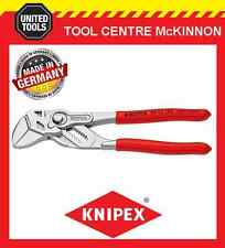 KNIPEX 86 03 180 180mm 35mm CAPACITY ADJUSTABLE PLIERS WRENCH – MADE IN GERMANY