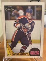 1987 O Pee Chee WAYNE GRETZKY Card #53 *Edmonton Oilers* Sweet Card! * HOF *
