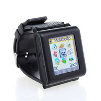 1.7IN GSM Unlocked AK812 Mobile Cell Phone Watch Touch Screen Mp3 mp4 Bluetooth~