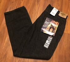 Mens Dickies Regular Fit Straight Leg Fits Over Boot Black Jeans Pants NWT 36x30