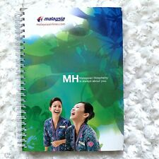 Malaysia Airlines Note Pad Paper Office Supplies MH One World Kuala Lumpur Book
