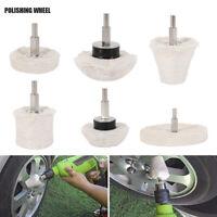 6x Polishing Wheel Buffing Pads Mop Kit Polishing Tool for Metal Stainless Steel