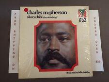 CHARLES McPHERSON SIKU YA BIBI (DAY OF THE LADY) LP IN SHRINK MRL 365