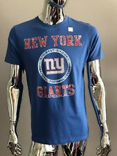 Junk Food NEW YORK GIANTS FOOTBALL BLUE COLOR T-SHIRT Size M
