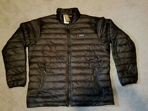 PATAGONIA   Mens XL  BLACK  Down Sweater Jacket  NWT  Authentic