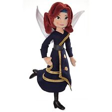 Disney ZARINA PLUSH Doll Pirate Fairy Navy Blue Dress Wings Toy Girl TinkerBell