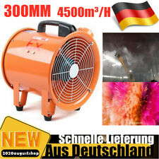 300mm Ventilator Axialgebläse Axiallüfter Baulüfter Bautrockner Lüfter Gebläse