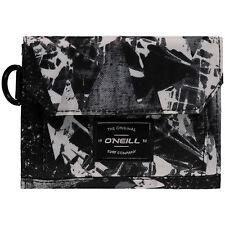 O 'Neill Herren Portemonnaie. Geldbörse Trifold Schwarz Geld Note Card Purse 7W 222 9910