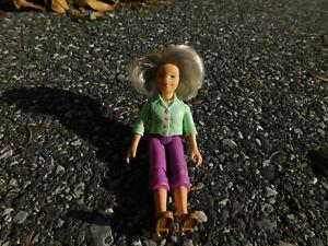 Loving Family Grandma Grandmother Figure doll 2006 Dollhouse rooted gray hair