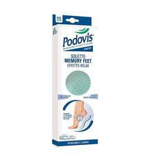 Podovis Solette Memory Feet Effetto Relax Adatte ad Ogni Piede Misure 24 - 45