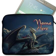"""Personalised Tablet Case DRAGON HEART Sleeve Cover 7"""" 8"""" 9"""" 10"""" KS08"""