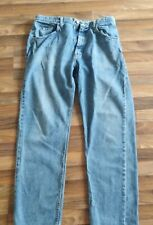 Vintage Men's Wrangler Jeans W34 L32 Very Good Condition