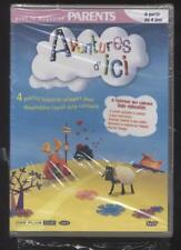 DVD AVENTURE D ICI 4 HISTOIRES ANIMEES POUR DEVELOPPER L EVEIL A PARTIR DE 4 ANS