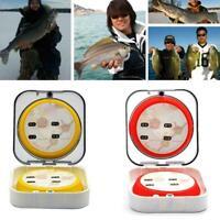 Fishing Line Spool Box Winding Board Shaft Bobbin Tackle Set Top Free Combi S4K1