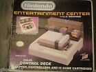 CONSOLE NINTENDO NES HOLDS CONTROL DECKS CONTROLLERS AND 12 GAME CARTRIDGES RARE