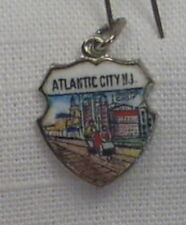 Vintage REU Sterling/Enamel Atlantic City, New Jersey Roller Chair Charm