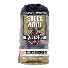 16 pack - HOMAX brand (1 Bag) (16 Pads)  #0000 (0000) SUPER FINE Steel Wool