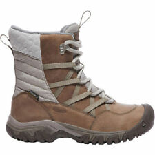 KEEN Women's Hoodoo III Lace Up Mid WP Hiking Boot 9.5 M New With Box Taupe