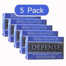Defense Soap Bar 4 Oz (5 Pack) All Natural Tea Tree Oil MMA Wrestling Judo