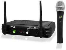 Pyle PDWM1902 UHF Wireless handheld Microphone System/Selectable Frequencies
